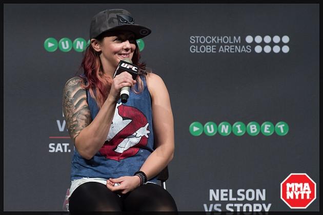 """Joanne Calderwood i intervju dagen innan UFC 203: """"Alla tror vi tjänar miljoner, de vet inte vad det kostar att vara en fighter"""""""
