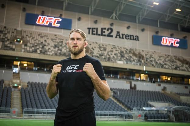 Alexander Gustafsson Tele2 Arena 02