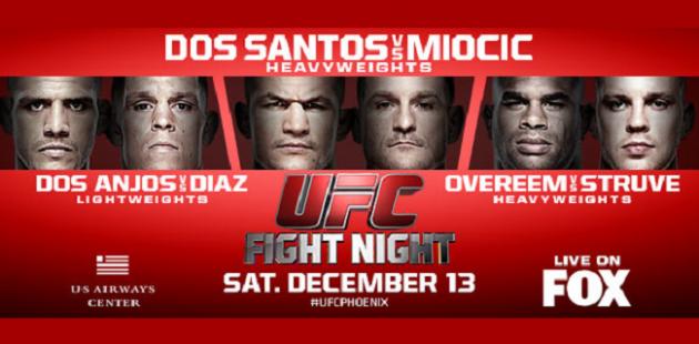 """Video: UFC on FOX 13 – Höjdpunkter med """"phantom cam"""""""