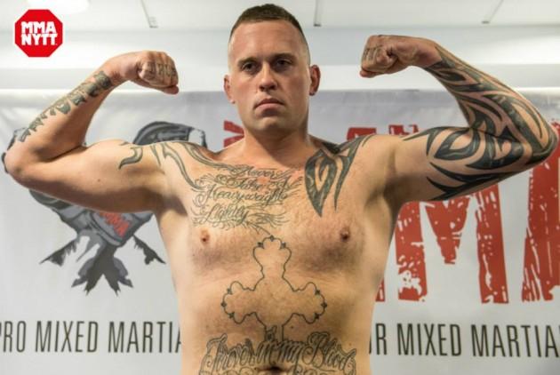 """Nick Barnø  inför Trophy MMA VIII: """"Det känns som en gammal fotbollsmatch mellan Danmark och Sverige"""""""