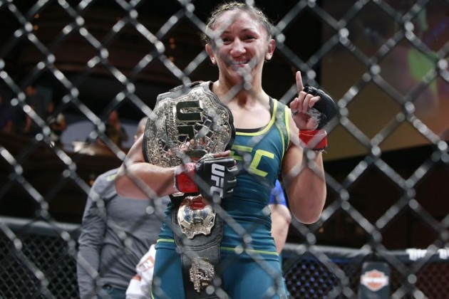 Carla Esparza redo för ny match under UFC Fight Night 105