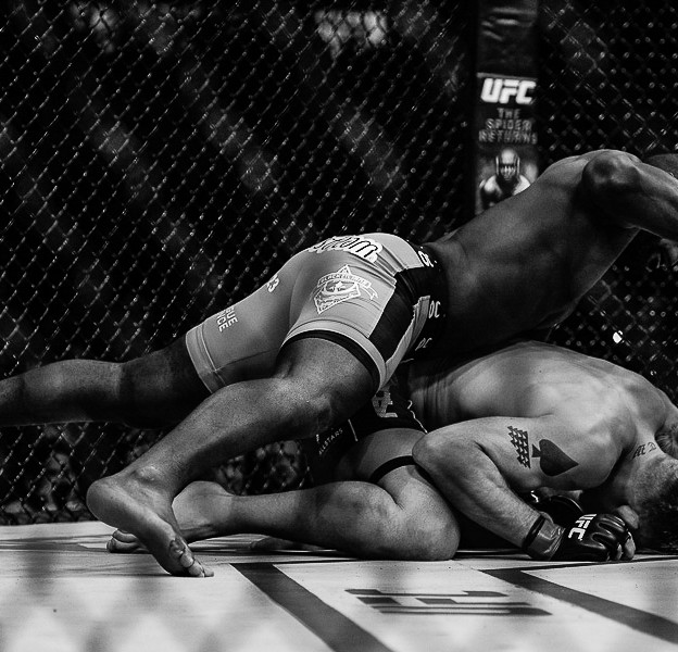 Anthony Rumble Johnson Foto Martin McNeil