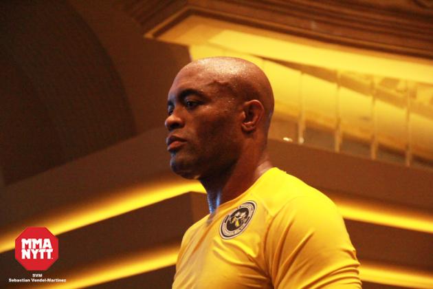 Anderson Silva återgår till träning