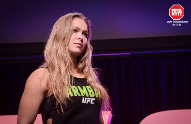 Ronda Rousey står upp mot Donald Trump – hjälper Standing Rock
