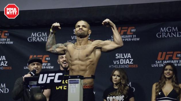 Invägningsresultat inför UFC 205 – Thiago Alves missar vikten kraftigt