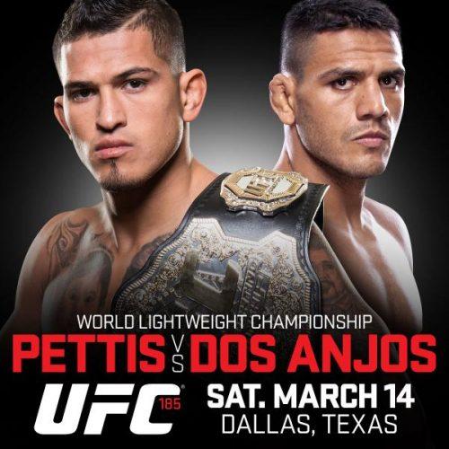 UFC 185: Anthony Pettis försvarar titeln mot Rafael dos Anjos