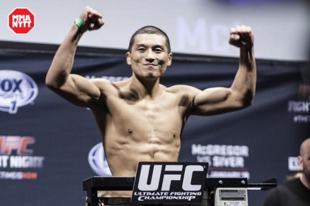 Fem nya matchningar klara för UFC Fight Night 66 i Manila