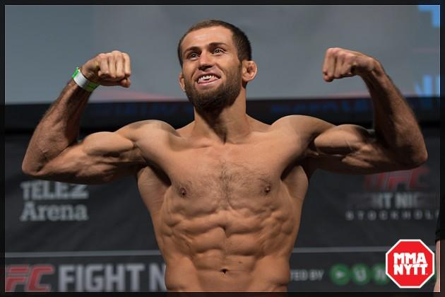 Lättviktsmatch mellan Mairbek Taisumov och Nik Lentz bokad till UFC 203 i Cleveland