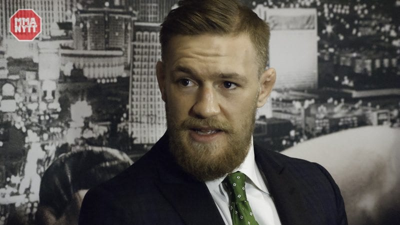 UFC MMAnytt.se Daniel Patinkin-15 conor mcgregor