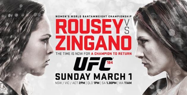 UFC 184: Underkortet en succé – tredje mest sedda underkortet på Fox Sports 1