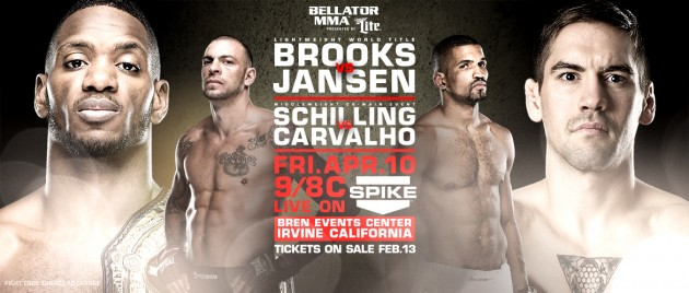 Bellator 136: Brooks vs Jansen – Resulta