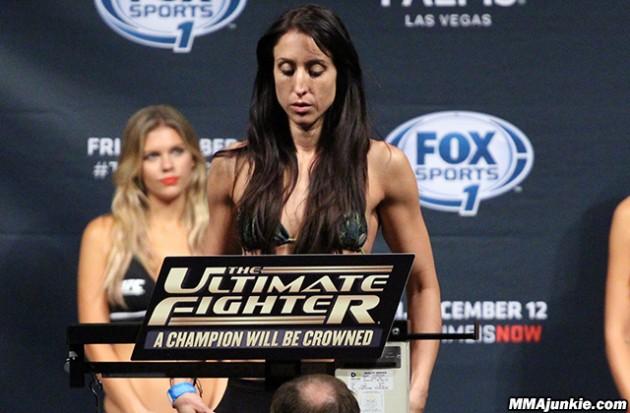 2 x Jessica bokade för fight under UFC 199