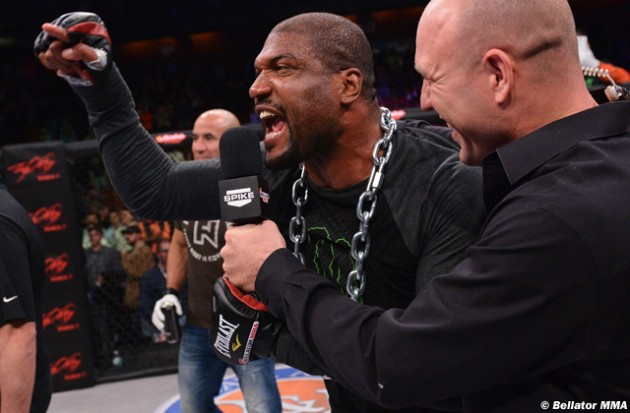 "Quinton ""Rampage"" Jackson: ""Bellator can't f-ck with the UFC"""