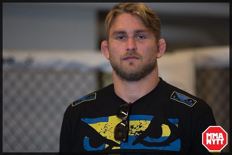 Alexander Gustafsson - en av alla fighters som kritiserade domen.