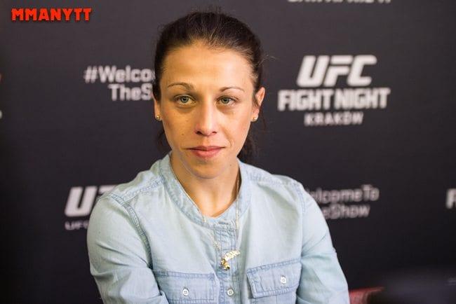UFC Fight Night Krakow Joanna Jedrzejczyk Gonzaga vs crocop weighin MMAnytt Mazdak Cavian-2