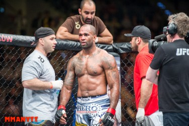 UFC Fight Night Krakow. Jimi Manuwa-Andreas Michael. Foto Mazdak Cavian-3