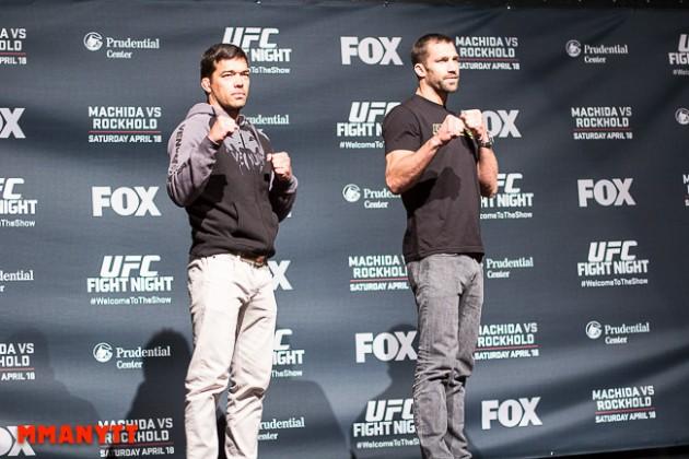 Invägningsvideo för UFC on FOX 15: Machida vs Rockhold – Se den här kl 22:00