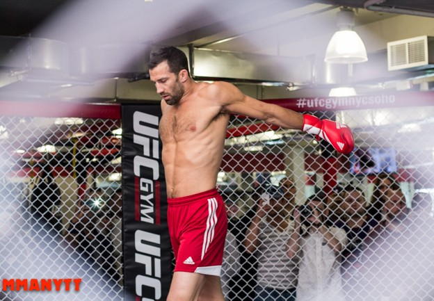 UFC on Fox- Machida vs. Rockhold MMAnytt Luke Rockhold  Photo Foto Mazdak Cavian-2