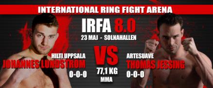 Johannes Lundström möter Thomas Jessing på IRFA 8