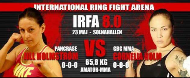 Amatör-MMA-match tillagd på IRFA 8