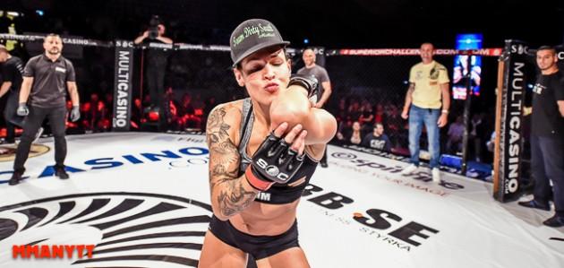 Klart: Lina Länsberg går match på UFC London – här är hennes motståndare