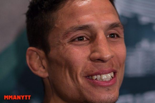 UFC 187 Joseph Benavidez Las Vegas Nevada MGM Grand Arena MMAnytt Mediaday foto Mazdak Cavian_-3