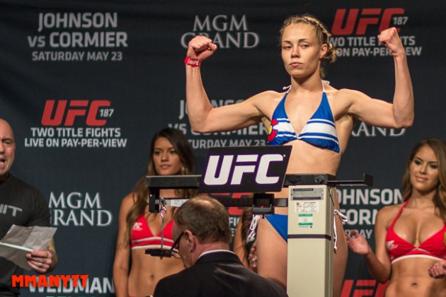 """Rose Namajunas om sin inställda match: """"You don't think that at this stage, it would happen"""""""