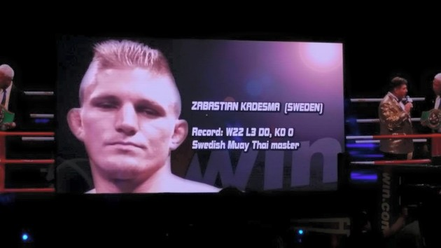 Svenske Zebastian Kadestam vann WBC-titeln i Thaiboxning