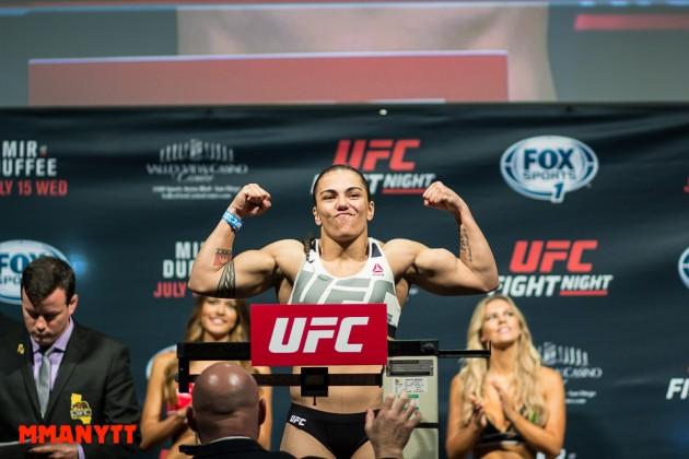 UFC Fight Night 71: Jessica Andrade vinner ensidig match mot Sarah Moras
