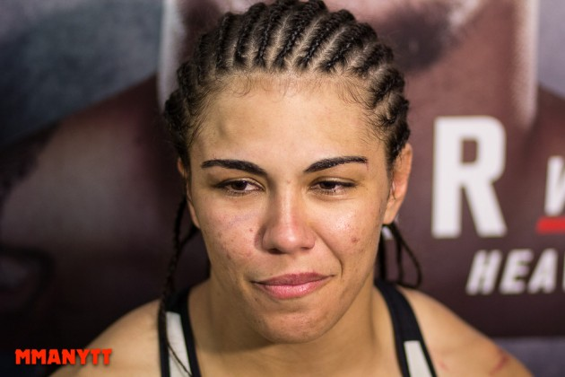 "Jessica Andrade vill möta ""The Karate Hottie"" på UFC Fight Night 104"