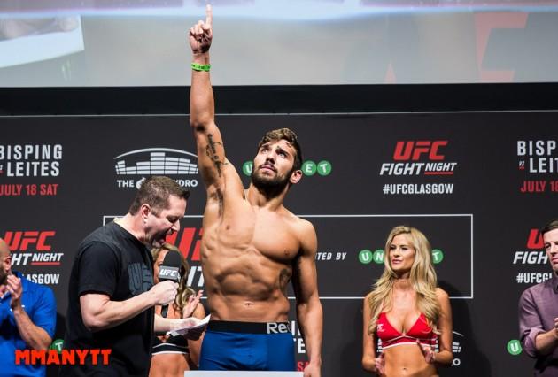 Jimmie Rivera UFC Fight Night 71 glasgow laties vs bisping Mixed martial arts MMAnytt 2015 Foto Mazdak Cavian-5