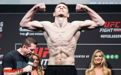 Joseph Duffy UFC Fight Night 71 glasgow laties vs bisping Mixed martial arts MMAnytt 2015 Foto Mazdak Cavian-37
