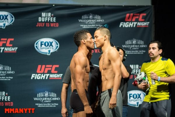 Kevin Lee vs James Moontasri Foto Mazdak Cavian