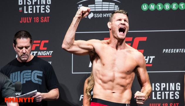 Michael Bisping vs Gegard Mosuasi bokad för UFC Fight Night 83 i London, Makwan Amirkhani och Norman Parke får motstånd
