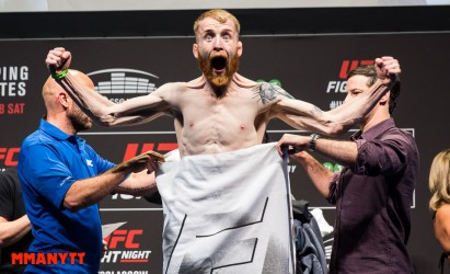 Paddy Holohan UFC Fight Night 71 glasgow laties vs bisping Mixed martial arts MMAnytt 2015 Foto Mazdak Cavian-19