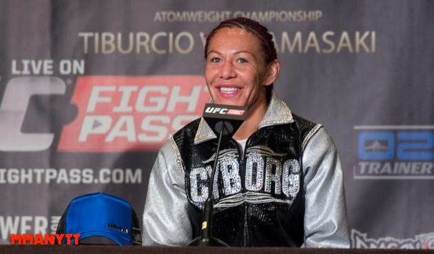 Cristiane 'Cyborg' Justino tycker att Ronda Rousey är mentalt svag