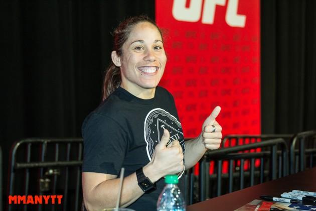 Första kvinnliga matchen bokad för UFC 205 i New York