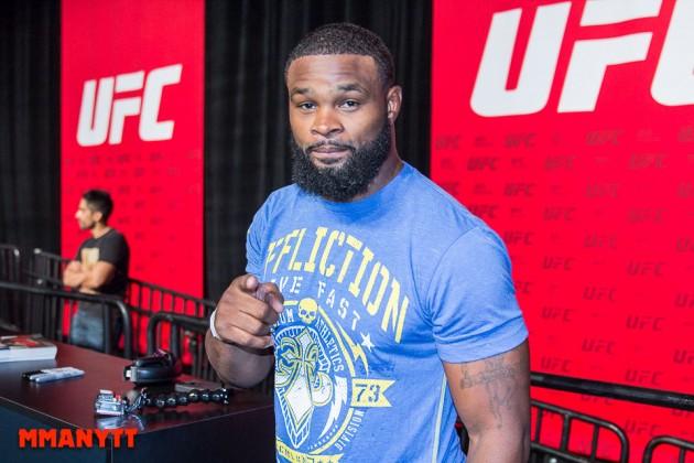 Tyron Woodley redo att gå match på nyårsgalan UFC 207 – Demian Maia intresserad