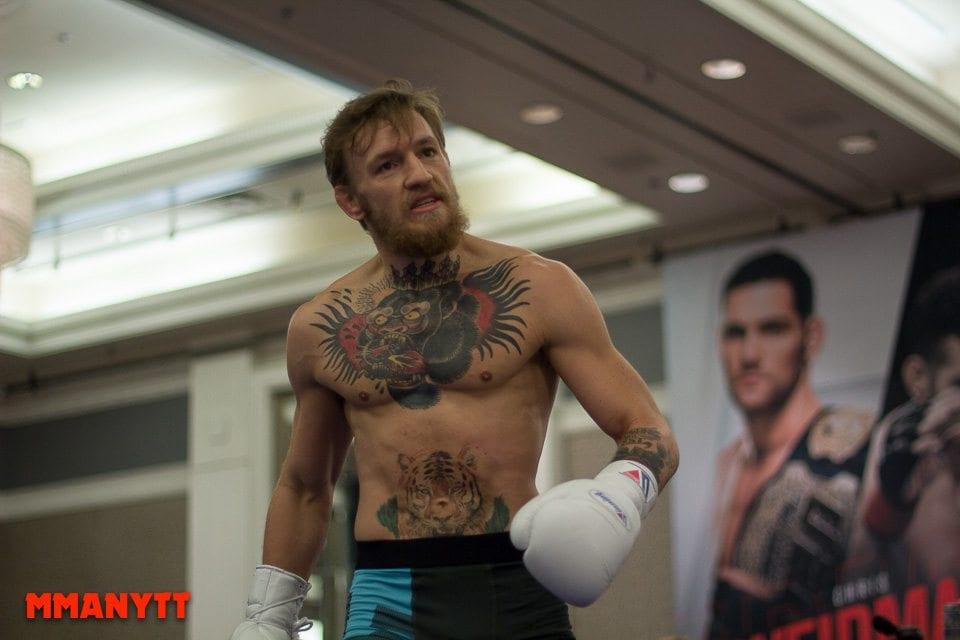 UFC 189 conor mcgregor Las Vegas Mixed martial arts MMAnytt 2015 Foto Mazdak Cavian-20