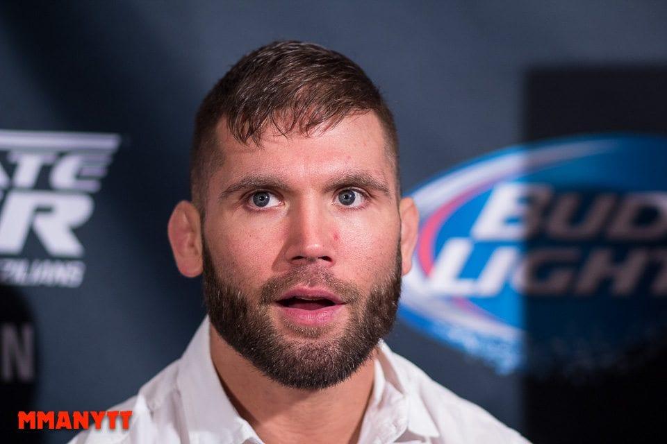 UFC 189  jeremy stephens Las Vegas Mixed martial arts MMAnytt 2015 Foto Mazdak Cavian-6