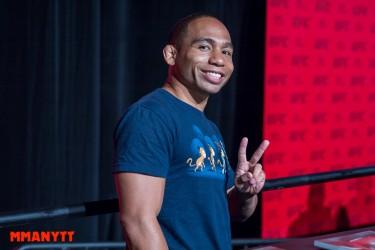 UFC 189 john dodson  Las Vegas Mixed martial arts MMAnytt 2015 Foto Mazdak Cavian-70