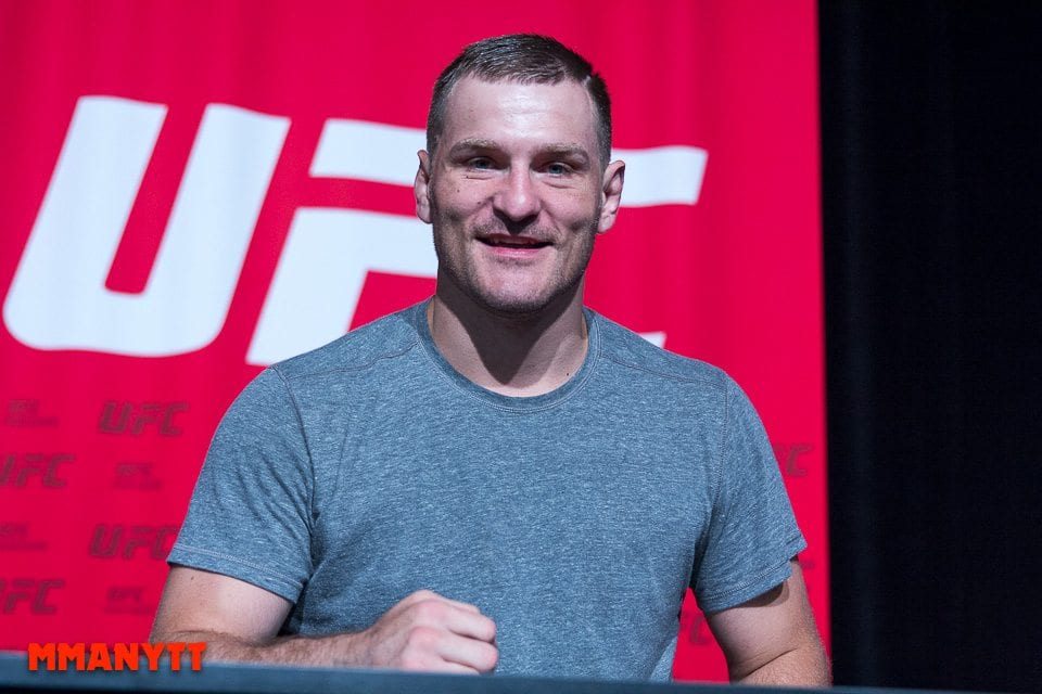 UFC 189 stipe miocic  Las Vegas Mixed martial arts MMAnytt 2015 Foto Mazdak Cavian-57