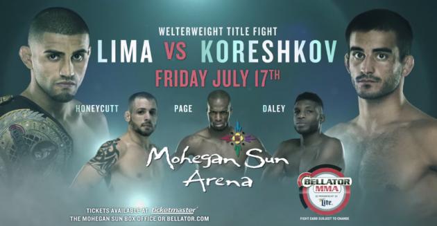 Bellator 140: Lima vs Koreshkov – Uncut