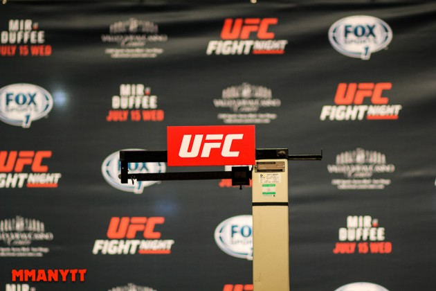 UFC Fight Night 92 – Se invägningen live kl 01.00