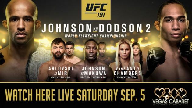 UFC 191: Bonusar