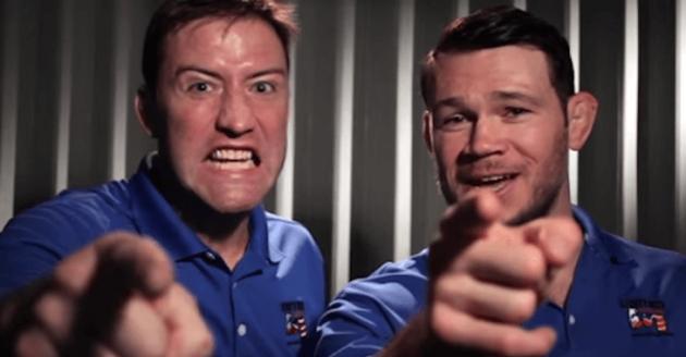 Forrest Griffin och Stephan Bonnar gör reklam för Nissan