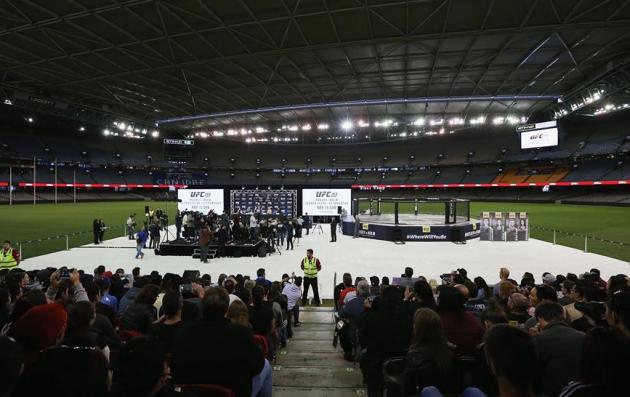 UFC & Etihad Stadium släpper ett uttalande gällande terrorattacken i Paris