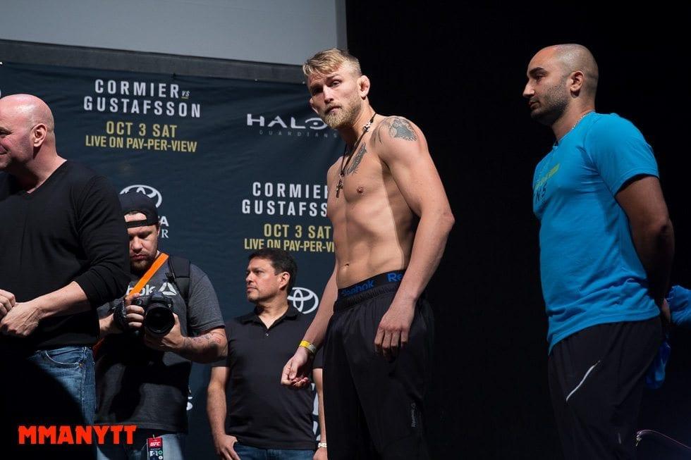 Alexander Gustafsson UFC 192 2015 MMAnytt 2015 Foto Mazdak Cavian UFC_-78