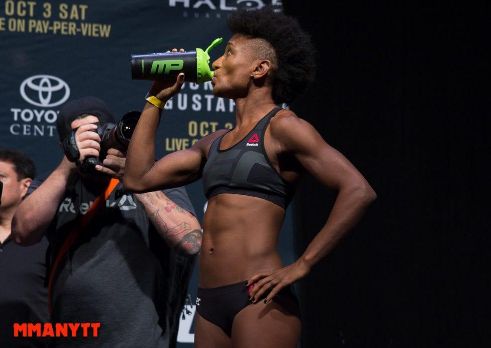 Angela Hill UFC 192 2015 MMAnytt 2015 Foto Mazdak Cavian UFC_-43