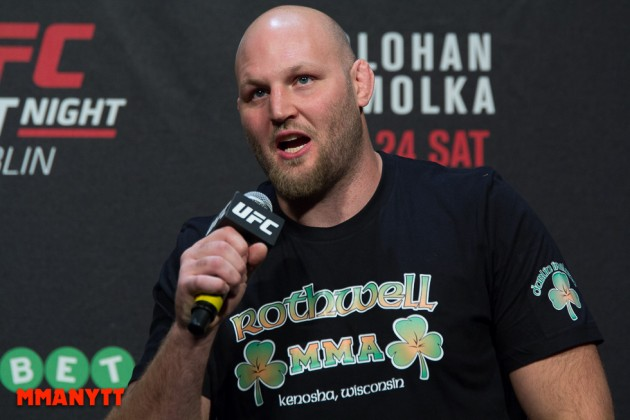 "Ben Rothwell till Stipe Miocic om Junior dos Santos: ""Tell him to fuck off"""